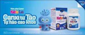 Viên nhai canxi KidbiCals – Viên nhai canxi tự nhiên cho bé cao khỏe